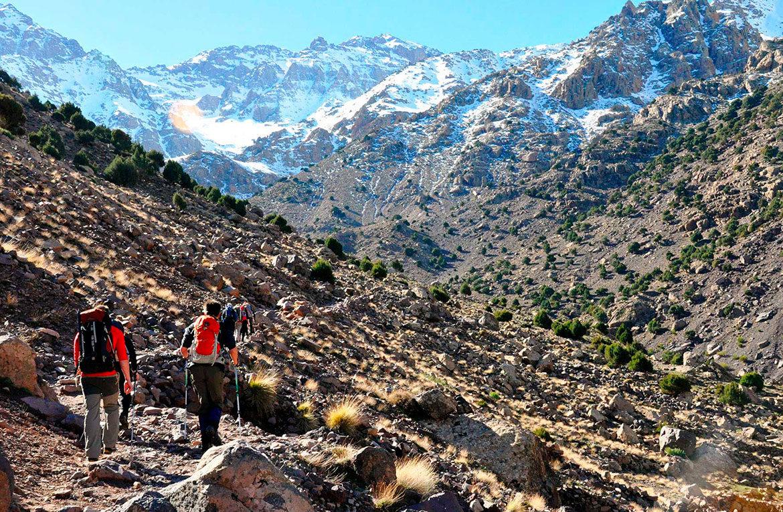 Trekking Atlas Marruecos